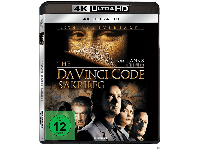 The Da Vinci Code - Sakrileg [4K Ultra HD Blu-ray]