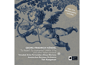 Amsterdam Baroque Orchestra, Klaus Mertens, Yetzabel Arias Fernández - 'Tu Fedel? Tu Costante?' HWV 171a And Other Italian Cantatas - (CD)