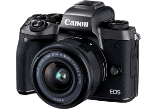 CANON EOS M5 + EF-M 15-45mm IS STM + EF-Adapter