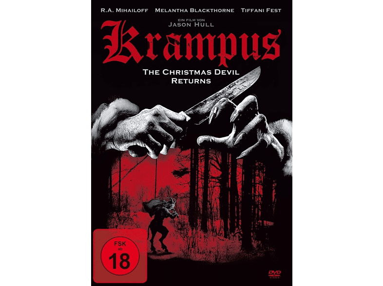 Krampus: The Christmas Devil Returns [DVD]