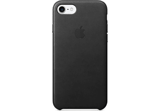 APPLE iPhone 7 Leather Case Black - (MMY52ZM/A)
