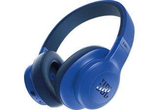 JBL E55BT, Over-ear Kopfhörer, Headsetfunktion, Bluetooth, Blau