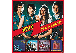 Hello - The Albums-Deluxe 4CD Boxset - (CD)