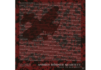 Andres Quartett Böhmer - Plane To Bukarest - (CD)