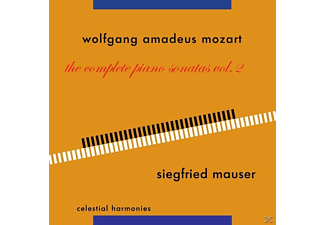 Mauser Siegfried - Klaviersonaten Vol.2 - (CD)