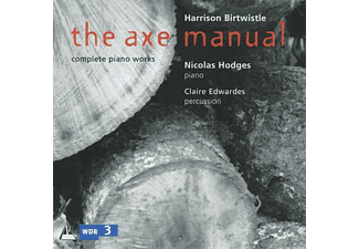 HODGES/EDWARDES - The Axe Manual-complete piano works - (CD)