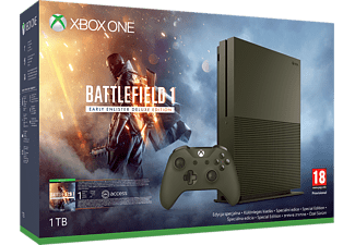 MICROSOFT Xbox One S 1TB Battlefield™ 1 Special Edition Bundle