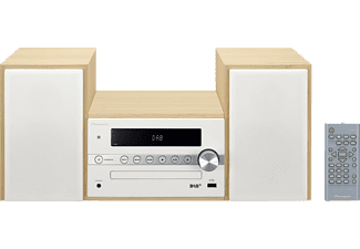 PIONEER X-CM56D Micro-Systemanlage (Weiss)