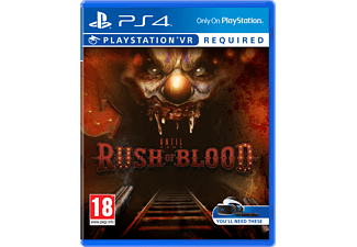 Until Dawn: Rush of Blood PlayStation 4