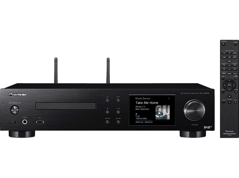 PIONEER NC-50DAB-B All-In-One Hifi-System (Schwarz)