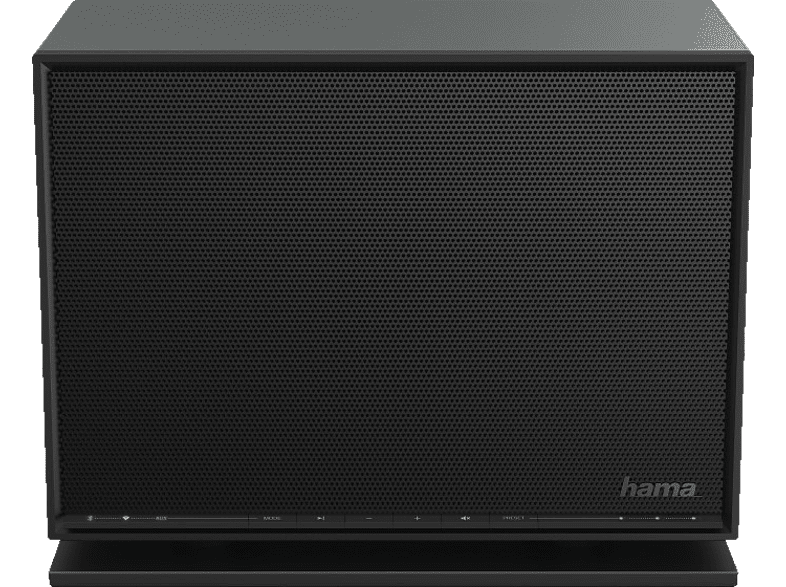 hifi-tests.de HAMA Cast GC100MBT Internetradio (Schwarz)