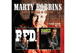 Marty Robbins - R.F.D./My Kind Of Country - (CD)