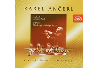 Karel/czech Philharmonic Or Ancerl, Karel/tp Ancerl - Ancerl Gold Ed.6: Sinf.1 [CD]