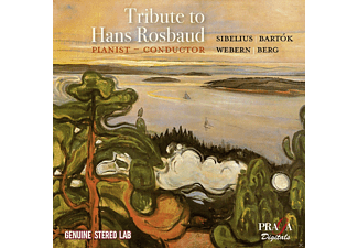 Swf Symphony Orchester & Berliner P - Tribute To Hans Rosbaud - (CD)