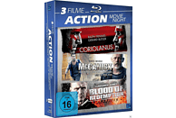 3 Filme Action Movie Night - Coriolanus / McCarnick / Blood of Redemption [Blu-ray]