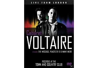 Cabaret Voltaire - Live From London - Recorded At The Town And Country Club - (DVD)