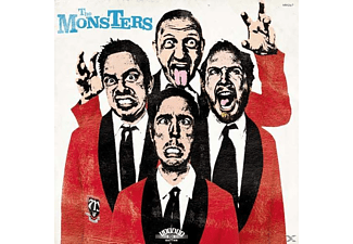 The Monsters - Pop Up Yours (LP & CD) - (LP + Bonus-CD)