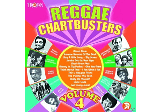 VARIOUS - Reggae Chartbusters Vol.4 - (CD)