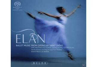 Guillaume Orchestra Victoria & Tourniaire - Elan-ballet Music From Operas By Saint-saens [Hybrid Sacd] - (CD)