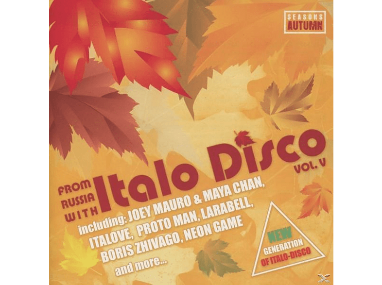 VARIOUS - From Russia With Italo Disco Vol.5 [CD]