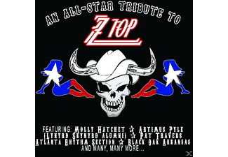 VARIOUS - All Star Tribute To Zz To - (CD)