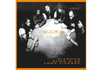 Show & Ag Lord Finesse D.i.t.c.feat.diamond - Live At Tramps New York Vol.2 - (CD)