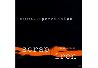 Edgar Guggeis - Scrap Iron-Modern Art Of Percussion - (CD)