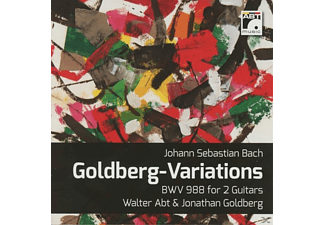 Abt,Walter/Goldberg,Jonathan - Goldberg-Variations BWV 998 - (CD)