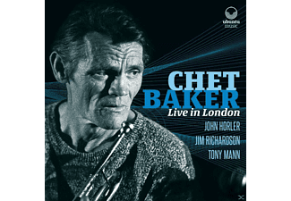 Chet Baker - Live In London - (CD)