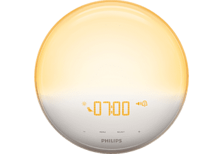 PHILIPS Wake-up Light HF3531/01 mit Licht und Ton, weiß