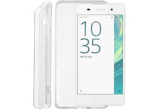 IDOL 1991 Θήκη Sony Xperia E5 F3311 Ultra Thin Tpu 0.3mm White - (5205308173653)