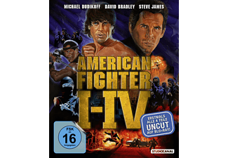 American Fighter 1-4 - (Blu-ray)