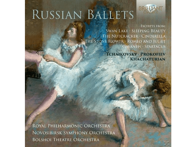 Royal Philharmonic Orchestra, Novosibirsk Symphony Orchestra, The Bolshoi Theatre Orchestra - Russian Ballets-RPO/Bolshoi [CD]