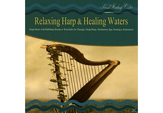 Sound Healing Center - Relaxing Harp & Healing Waters - (CD)