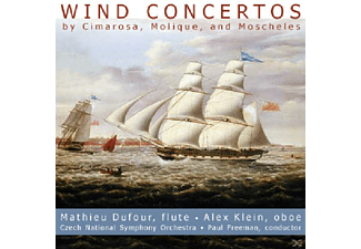 VARIOUS, Alex Klein, Mathieu Dufour, Czech Nso - Wind Concertos - (CD)