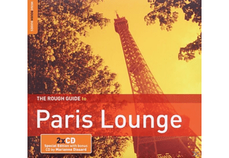 Diverse Frankreich - Rough Guide: Paris Lounge (+ - (CD + Bonus-CD)