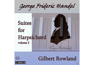 Gilbert Rowland - Cembalosuiten Vol.2 - (CD)