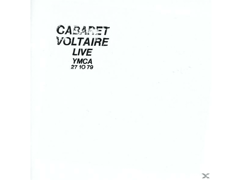 Cabaret Voltaire - Live At The Ymca 27.10.79 [CD]
