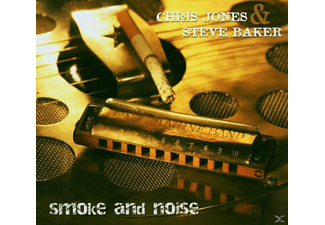 Steve Baker, Baker, Steve / Jones, Chris - Smoke And Noise - (CD)