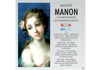 VARIOUS - Manon-Mp 3 - (MP3-CD)