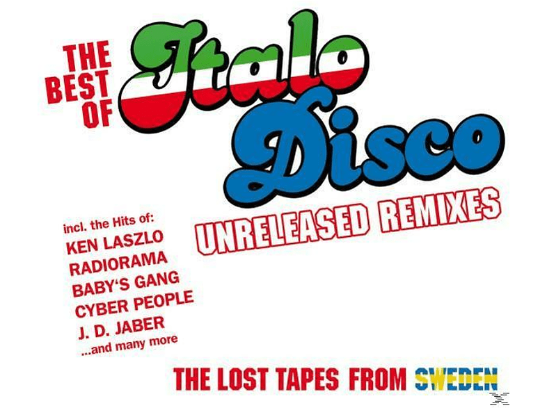 VARIOUS - Best Of Italo Disco-Unreleased Remixes [CD]