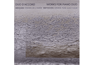 Duo D'accord - Visions De L'Amen/Grosse Fuge - (CD)