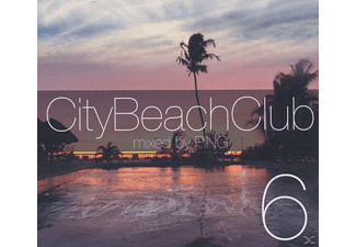 various/dj ping - city beach club 6 - (CD)
