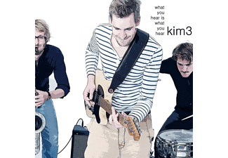 Kim3 - What You Hear Is What You Hear - (CD)