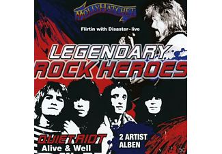 Quiet Riot, Molly Hatchet - Legendary Rock Heroes Vol.1 - (CD)