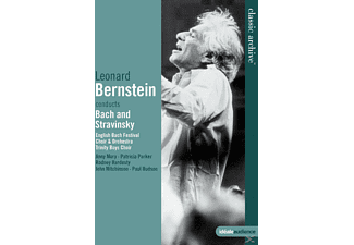 English Bach Festival Orchestra, English Bach Festival Choir, Trinity Boys Choir - Bernstein Dirigiert Bach Und Stravinsky - (DVD)