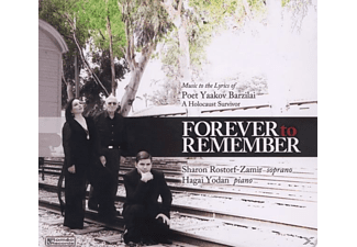 Rostorf-Zamir,Sharon/Yodan,Hagai - Forever to Remember - (CD)