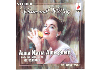 Anna Maria Alberghetti - Warm & Willing [CD]