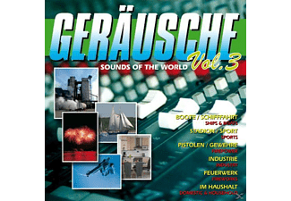 VARIOUS - Geräusche Vol.3-Sounds Of The World - (CD)
