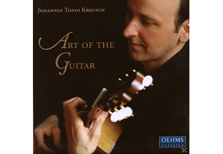 Johannes Tonio Kreusch - Art Of The Guitar - (CD)